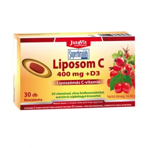 JutaVit Liposom C vitamin 400 mg, 30db